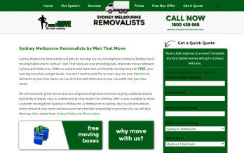 sydney melbourne removalists website