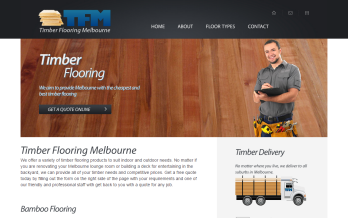 timber flooring melbourne web design